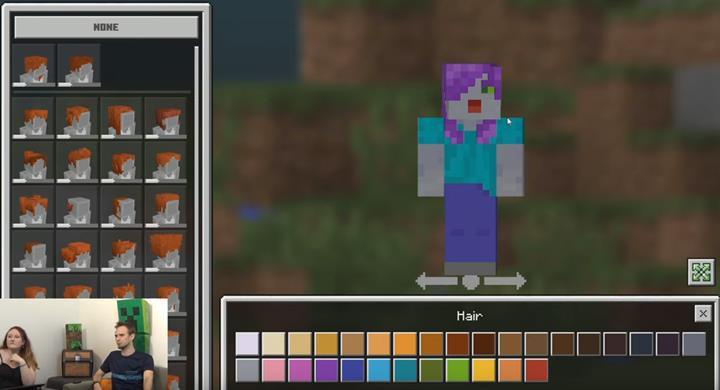 Minecraft'a karakter tasarlama seçeneği geliyor