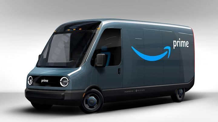 Amazon, Rivian'dan 100.000 adet elektrikli kamyonet sipariş etti