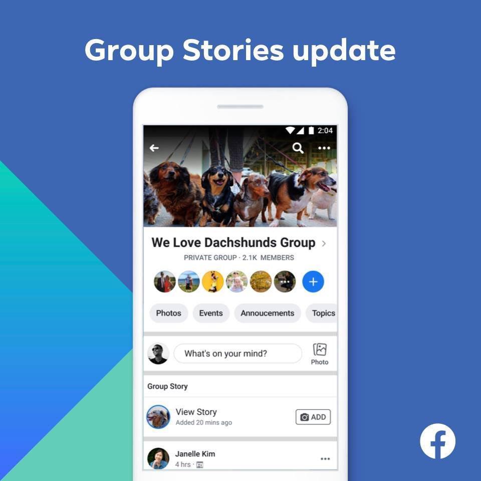 Facebook, Grup Hikayeleri özelliğini sonlandırıyor