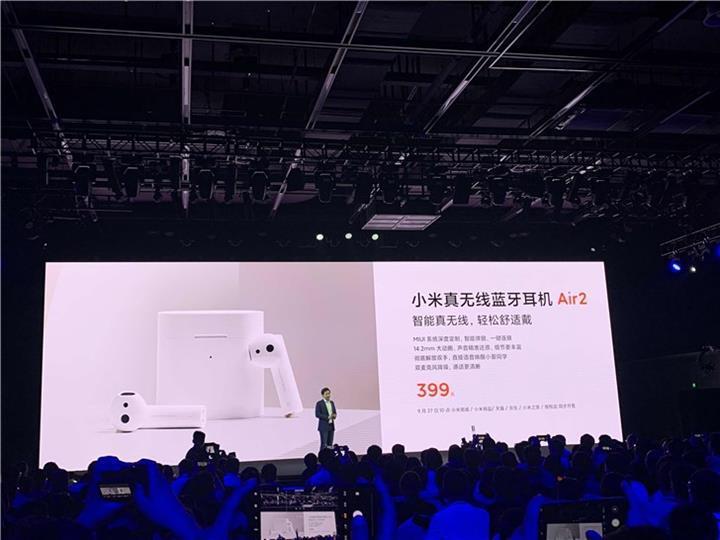 Xiaomi Air 2 kablosuz kulaklık tanıtıldı