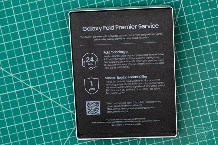 Samsung'tan Galaxy Fold ekran değişimi için tek seferlik indirim