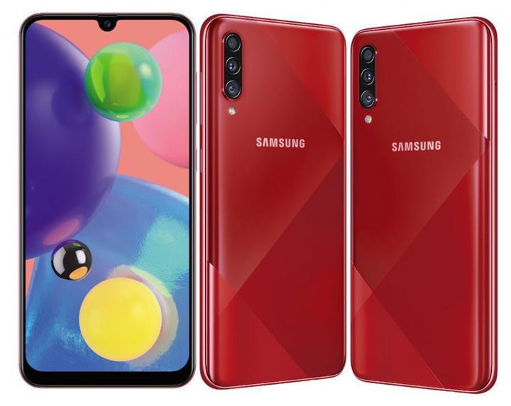 64 megapiksel kameralı Samsung Galaxy A70s tanıtıldı