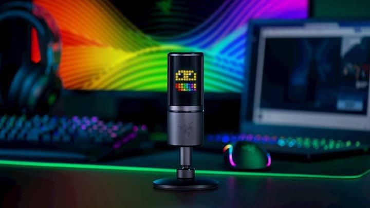 Razer'dan yayıncılar için emoji gösteren mikrofon