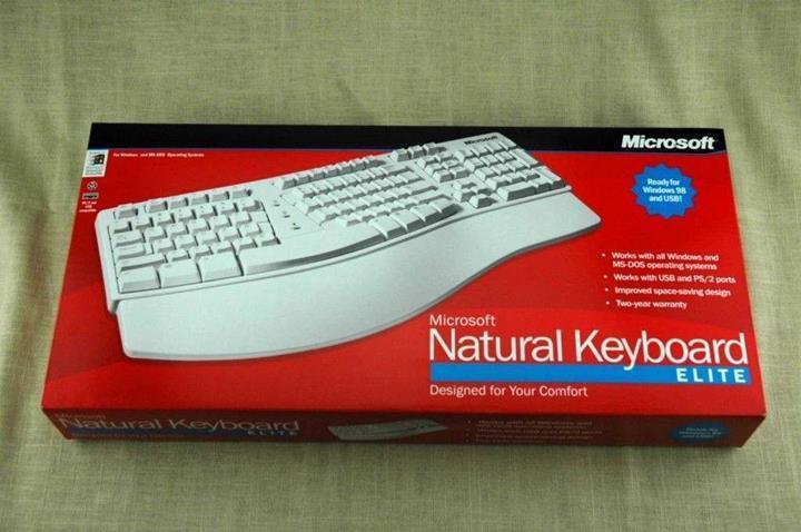 Microsoft, 2000'li yılların klavyesini geri getiriyor
