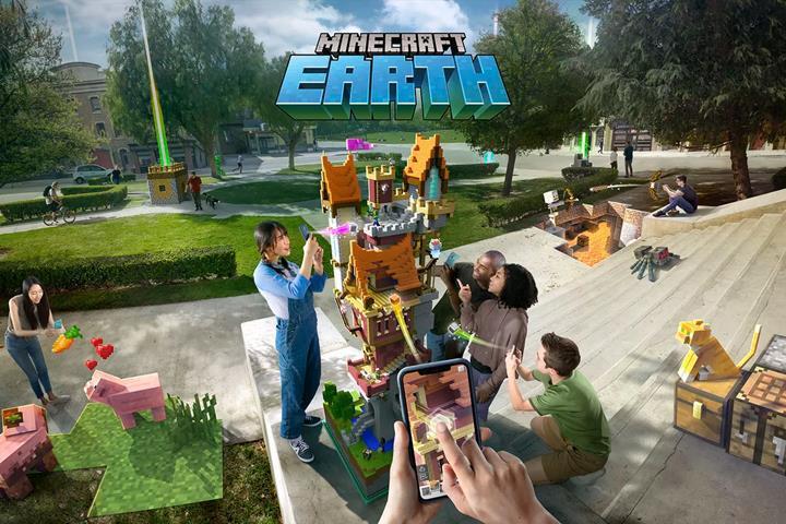 Minecraft Earth Ekim ayında erken erişime açılacak