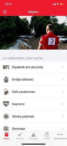 Depremde hayat kurtaracak mobil uygulamalar