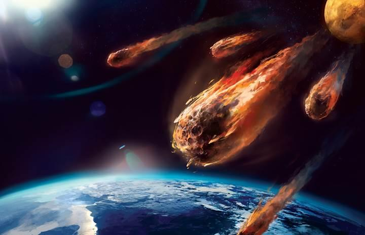Dünya'ya dev bir meteor çarparsa ne olur?(Video)