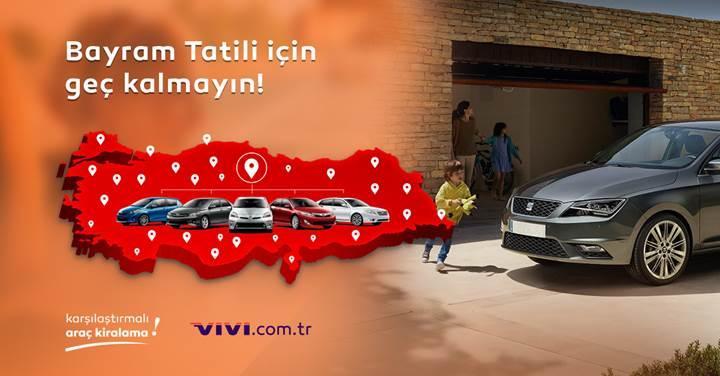 Karşılaştırmalı araç kiralama servisi: Vivi