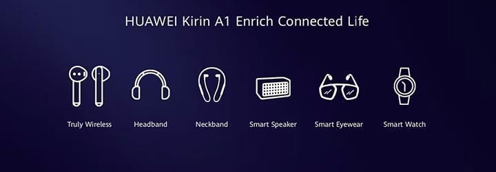 Huawei Kirin A1 çipi giyilebilir teknoloji ve kulaklıklar için geliyor