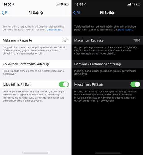 iPhone'daki iyileştirilmiş pil şarjı özelliği ne işe yarıyor?
