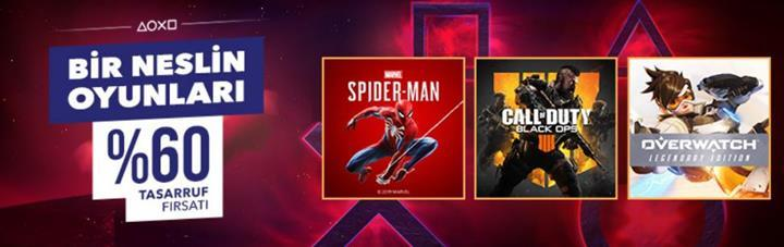 PS Store'da büyük indirimler: Spider-Man, RDR 2, Days Gone...