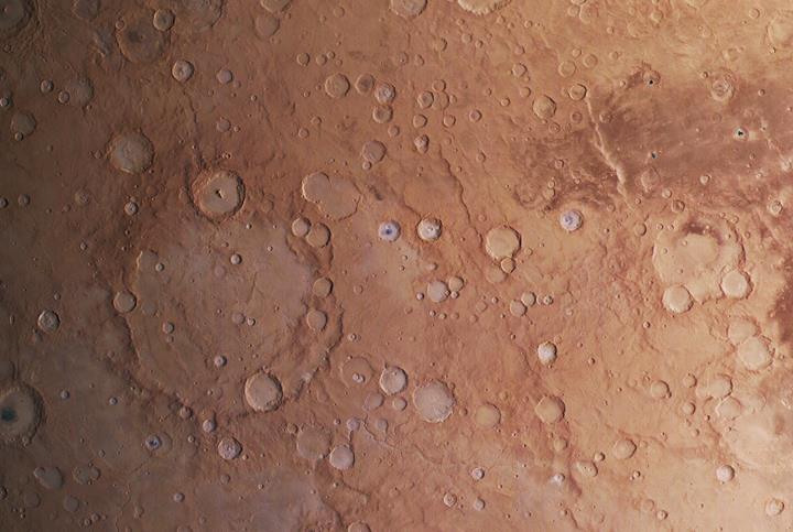 Avrupa'nın uzay aracından inanılmaz Mars görüntüsü