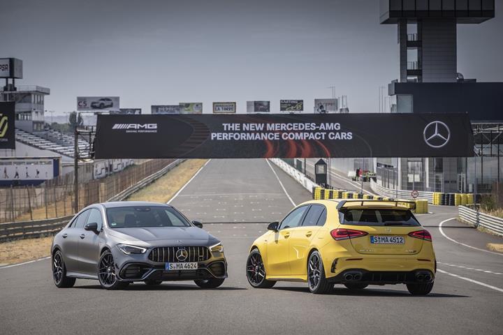 Mercedes-AMG'nin en yeni kompakt modelleri Türkiye'de satışa sunuldu