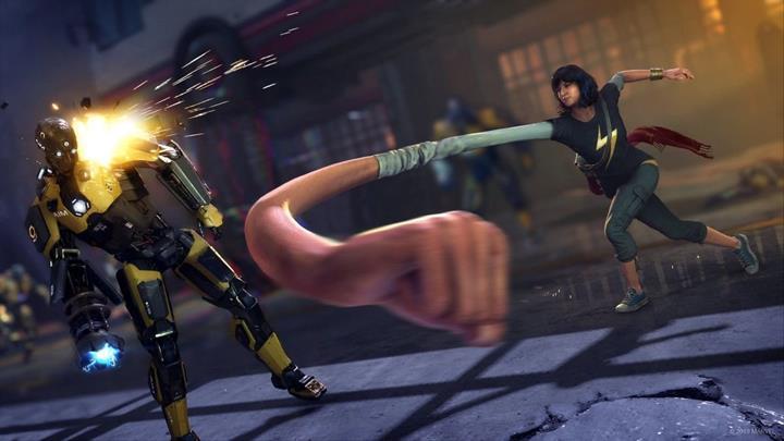 Kamala Khan, Marvel's Avengers'da oynanabilir bir karakter olacak