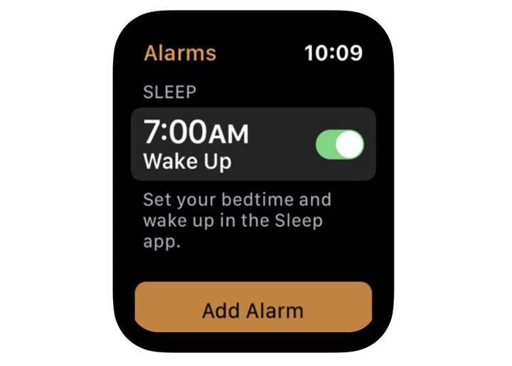 Apple Watch için henüz yayınlanmamış bir uyku uygulaması keşfedildi