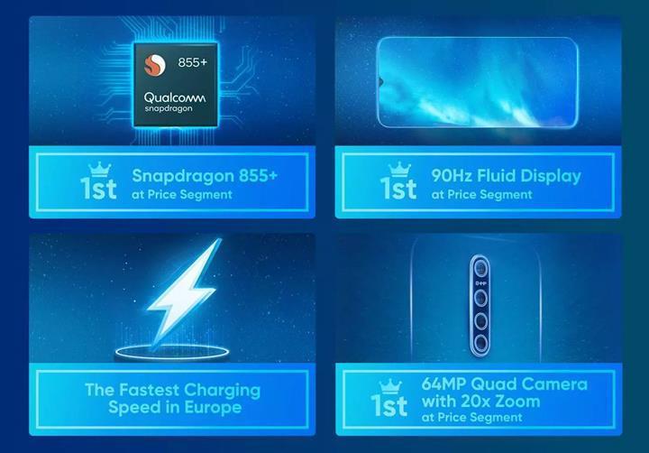 Realme X2 Pro'nun ilk resmi basın görseli yayınlandı