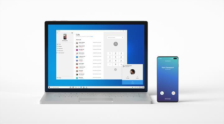 Windows 10 önizleme sürümüne, Android telefonlar için arama özelliği geldi