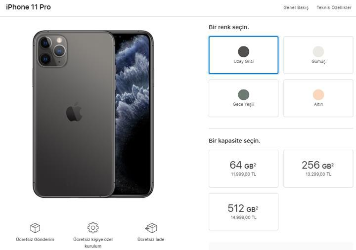 iPhone 11 ve Apple Watch Series 5'in Türkiye fiyatı açıklandı