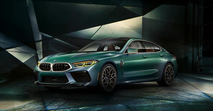 2020 BMW M8 Gran Coupe tanıtıldı: 600 beygirlik dört kapılı coupe
