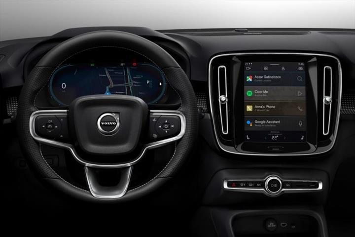 Elektrikli Volvo XC40, Android tabanlı multimedya sistemiyle gelecek