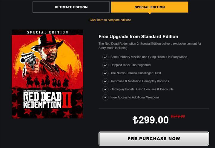 Red Dead Redemption 2'nin sistem gereksinimleri ve PC fiyatı açıklandı