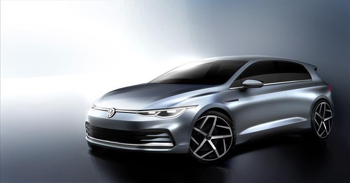2020 Volkswagen Golf'ün ilk resmi ipucu görselleri karşınızda