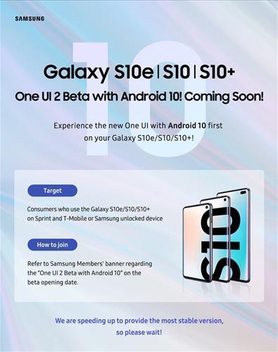 Samsung Galaxy S10 modelleri için Android 10 beta güncellemesi yakında geliyor