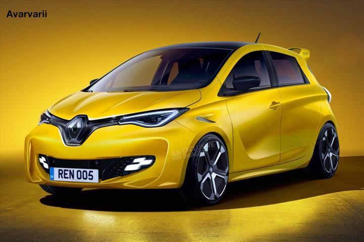 Clio RS'in yerini elektrikli Renault Zoe'nin RS versiyonu alabilir