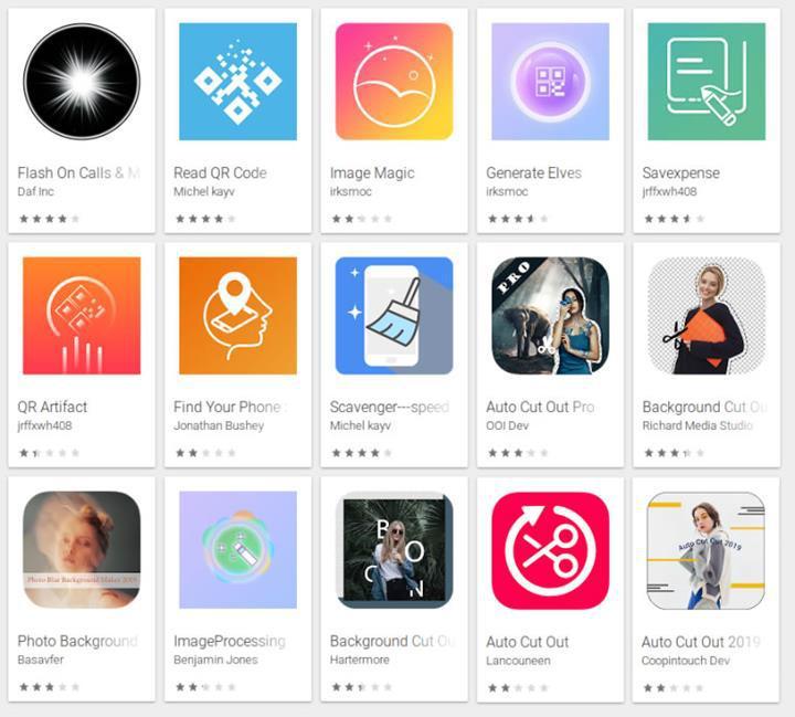 Google Play'de simgelerini gizleyip, arka planda çalışarak reklam gösteren 15 uygulama tespit edildi