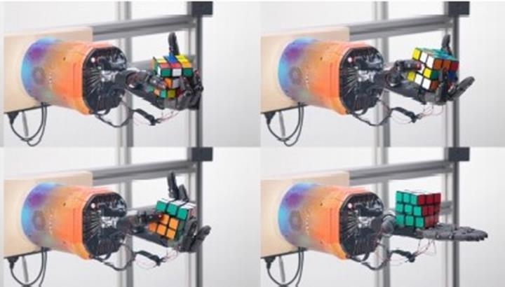 OpenAI rubik küpü çözebilen robotik kol yaptı
