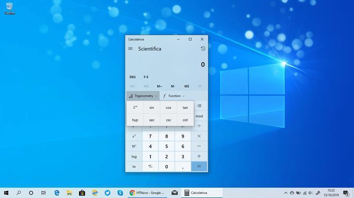 Windows 10'un Hesap Makinesi yeni özellikler kazandı
