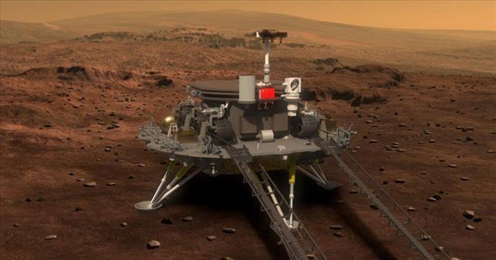 Çin'in Mars'a göndereceği dev uzay aracı ortaya çıktı