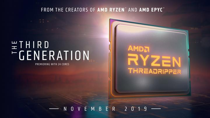Yeni nesil Ryzen Threadripper 24 çekirdekten başlıyor