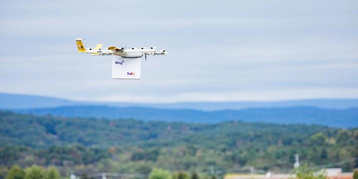 Google'ın teslimat drone'u ABD'de hizmet vermeye başladı