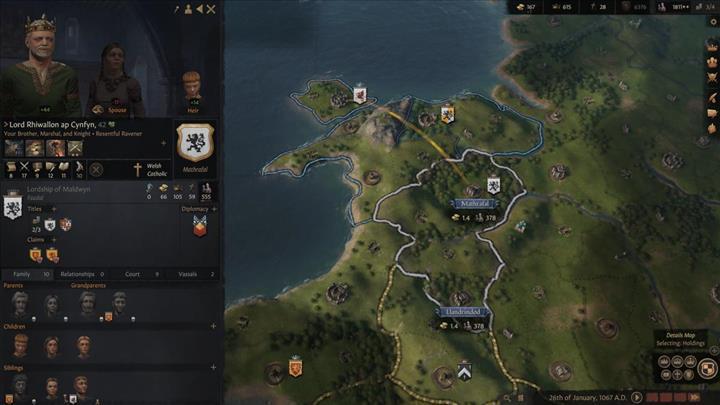 Orta Çağ temalı strateji oyunu Crusader Kings III, 2020 yılında PC'ye geliyor