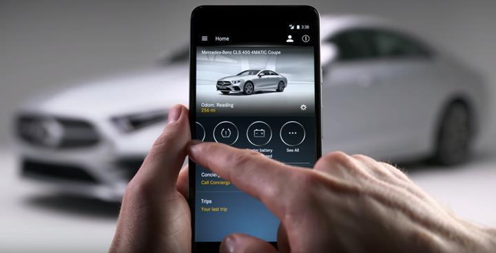 Mercedes uygulamasında güvenlik açığı