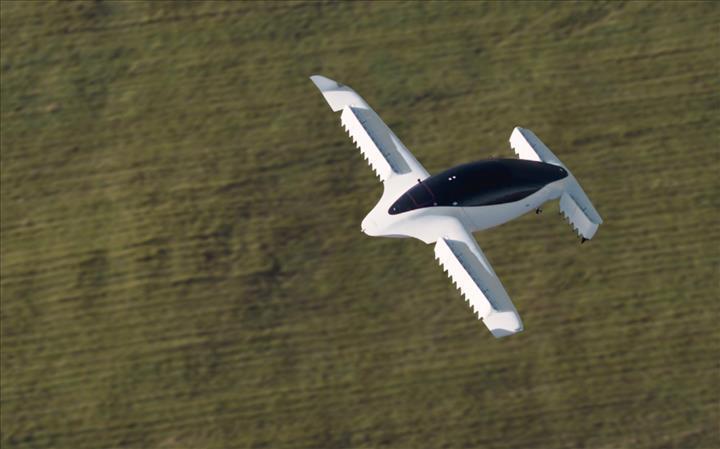 Lilium'un elektrikli uçan taksisi, saatte 100 kilometre hıza ulaştı