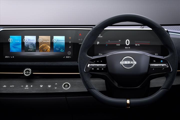 Nissan'ın gelecekteki tasarım dilini gösteren Ariya konsepti ile tanışın