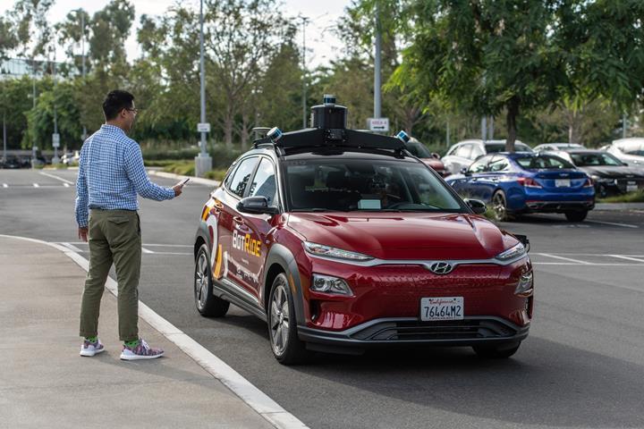 Hyundai'nin otonom aracı ücretsiz olarak hizmet veriyor