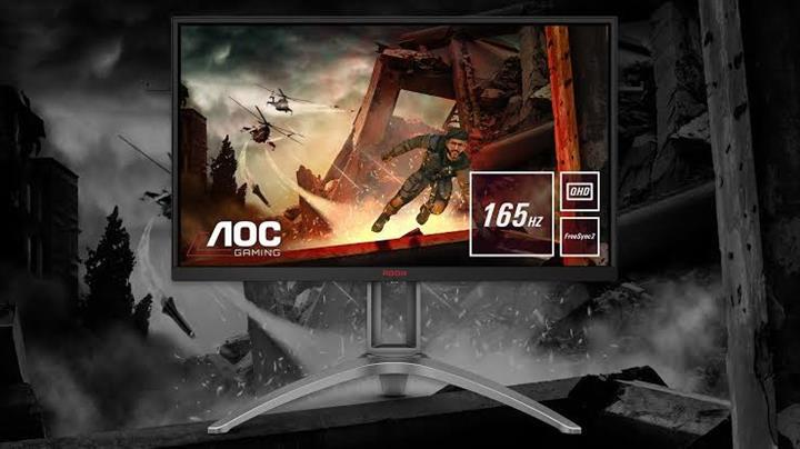 AOC AG273QX oyuncu monitörü tanıtıldı