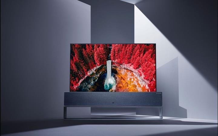 Şelale ekranlı televizyonlar geliyor