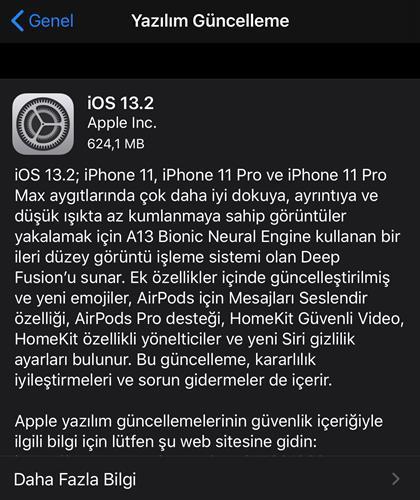 iOS 13.2 çıktı! iOS 13.2 ile gelen yeni özellikler