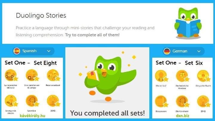 Duolingo'nun Hikâyeler özelliği iOS platformuna geldi