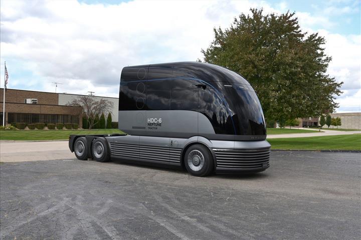 Hyundai'den hidrojen yakıtlı çekici konsepti: HDC-6 Neptune