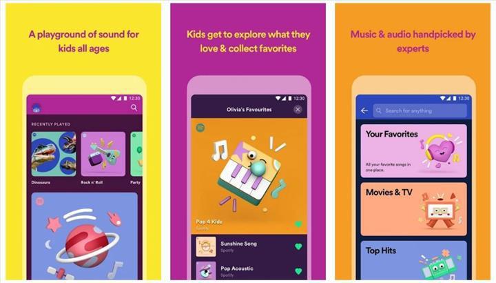Spotify Kids kullanıma sunuldu