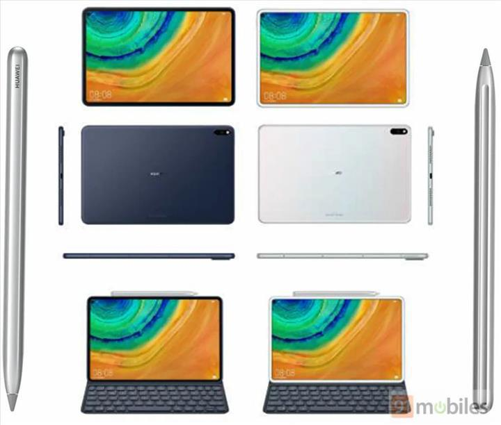 Huawei MatePad Pro delikli ekrana sahip olacak