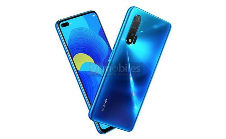 Huawei Nova 6 (4G) resmi basın görseliyle karşımızda