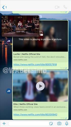 iPhone kullanıcıları yakında Netflix fragmanlarını WhatsApp'tan çıkmadan izleyebilecekler