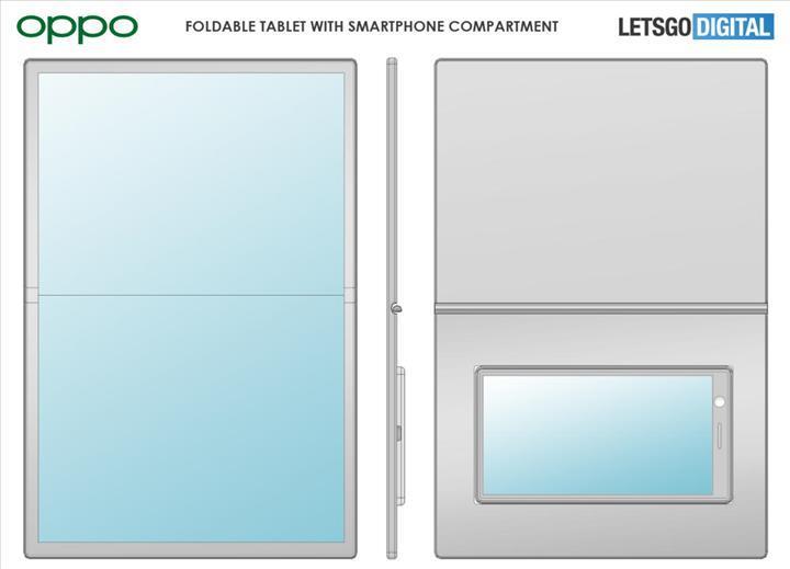 Oppo'dan katlanabilir telefonlara Asus PadFone tarzı yaklaşım