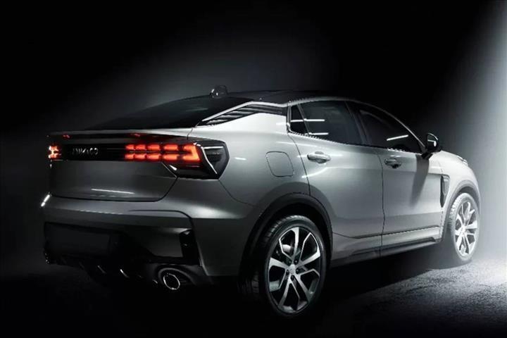 Çinli Lynk & Co'nun crossover coupe modelinden ilk resmi görseller geldi